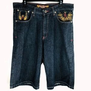 Mens Royal Republic Denim Shorts Size 38